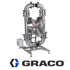 Graco Sanitary Diaphragm Pumps, Piston Pumps, Drum & Bin Unloaders
