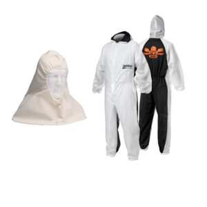 PPE Coveralls and hoods